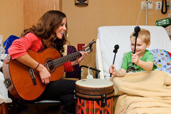 چگونگی درمان با موسیقی